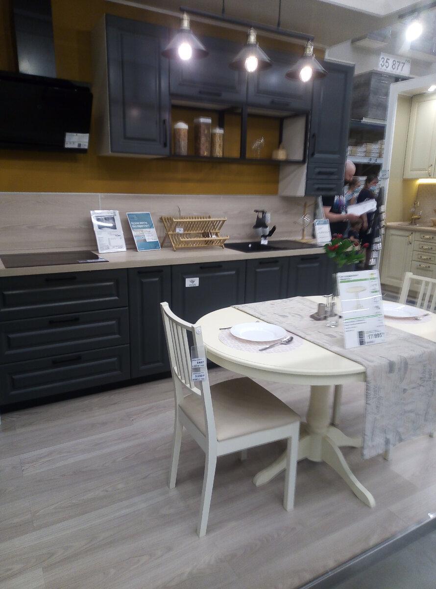 Новые кухни в Леруа – особенно понравилось оформление фартуков и общий вид