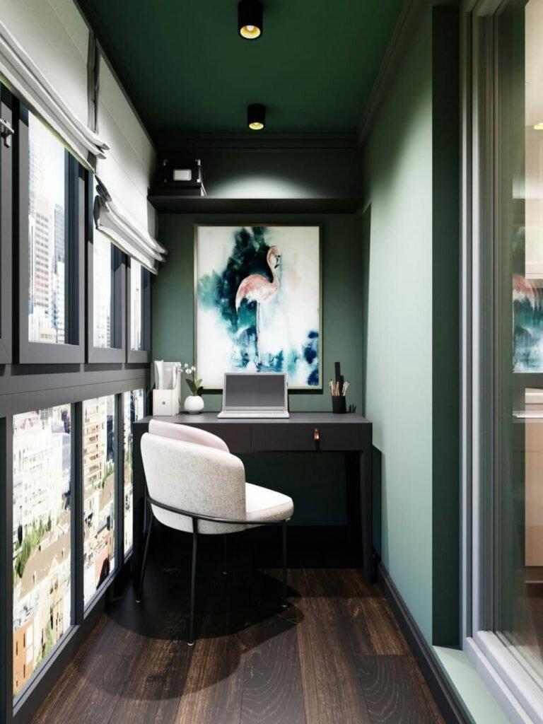 Изящество и красота на 27 кв.м. Изысканная студия с неординарными решениями