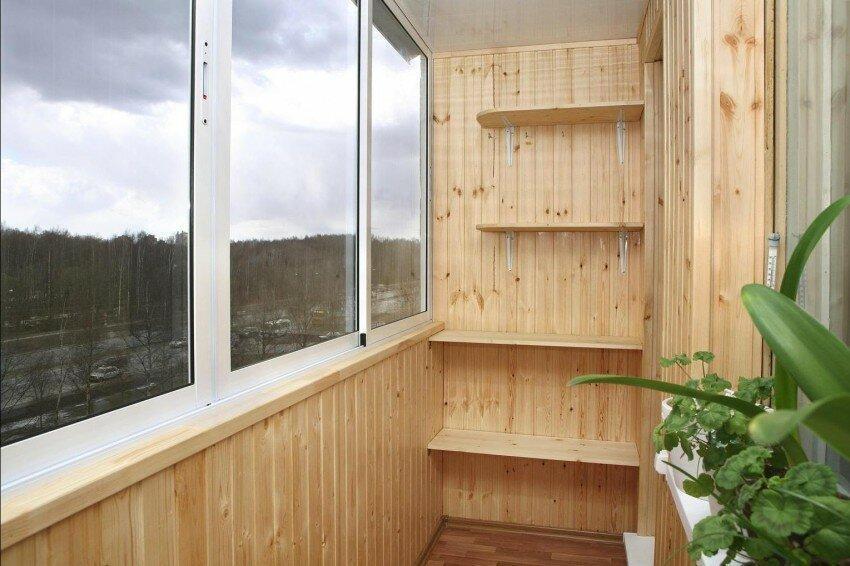Стены на балконе - лучшие идеи отделки и основные варианты оформления