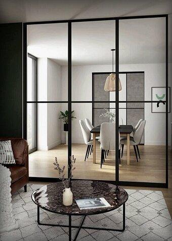 Делим, но не разделяем! 6 крутых идей для зонирования пространства в маленькой квартире
