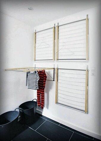 Вроде бы мелочь, но без неё как без рук! 5 стильных «бельевых верёвок», которые не испортят интерьер Вашей квартиры