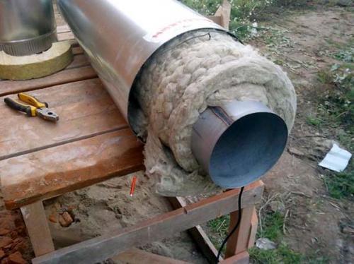 Асбестовая труба для дымохода. Можно ли использовать для дымохода асбестовую трубу