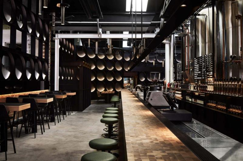Атмосферный пивной ресторан в Мельбурне