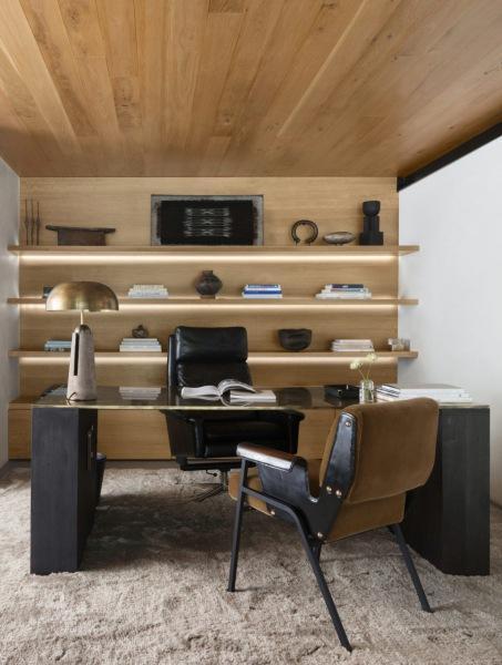 По-домашнему уютный офис в Калифорнии