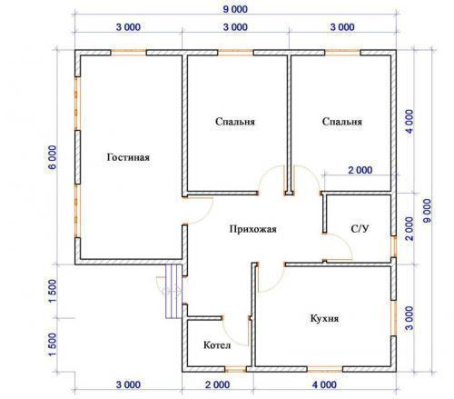 Строительство дома в сша. Материалы и технологии строительства