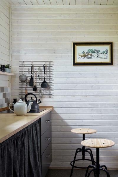 Уютный загородный дом по проекту Юлии Голавской, 80 м²