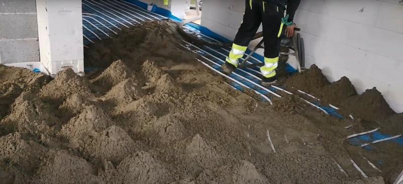 Водяной теплый пол – порядок выполнения качественного монтажа