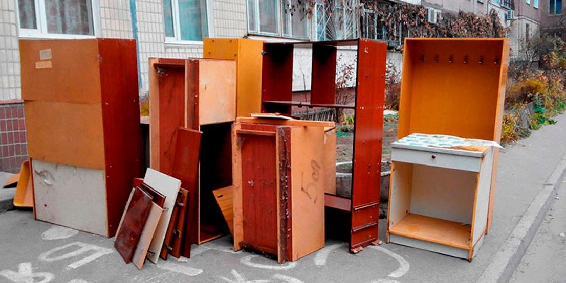 Грамотная утилизация мебели из квартиры