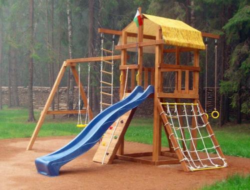 Детский спортивный комплекс своими руками для дома. Почему нам не подошли стандартные спорткомплексы?