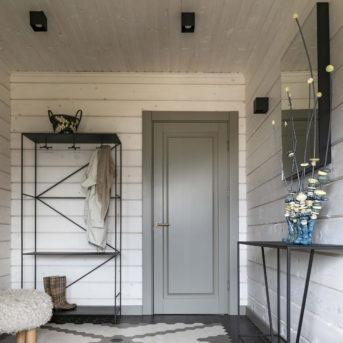 Дом с интерьером в спокойных тонах в Украине