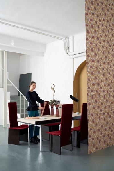 Двухуровневая студия-дом Кристины Челестино в Милане