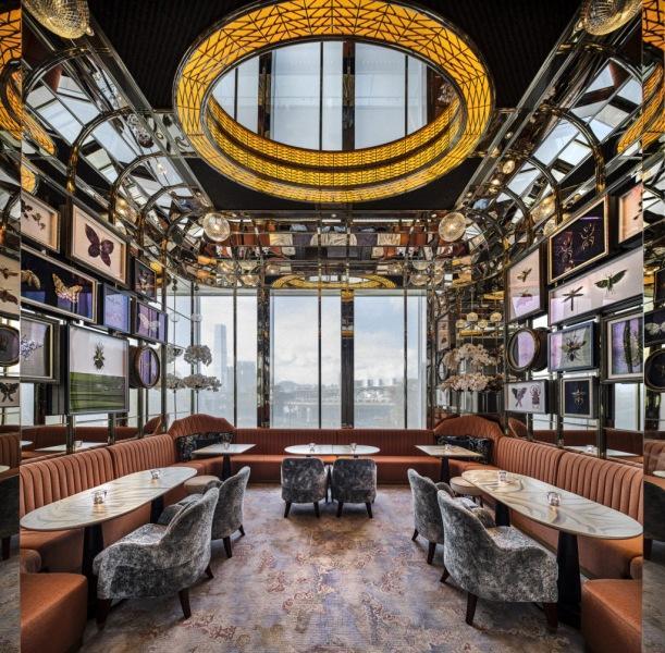 Гламурный бар в Гонконге