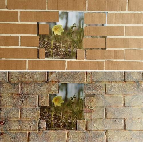 Как задекорировать стену в зале своими руками. Варианты, как сделать красивой стену в зале