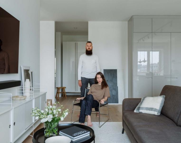 Квартира для молодой пары, 88 м²