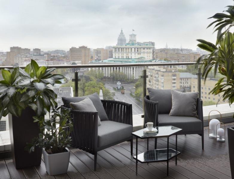Апартаменты с видом на Театр Российской армии, 160 м²