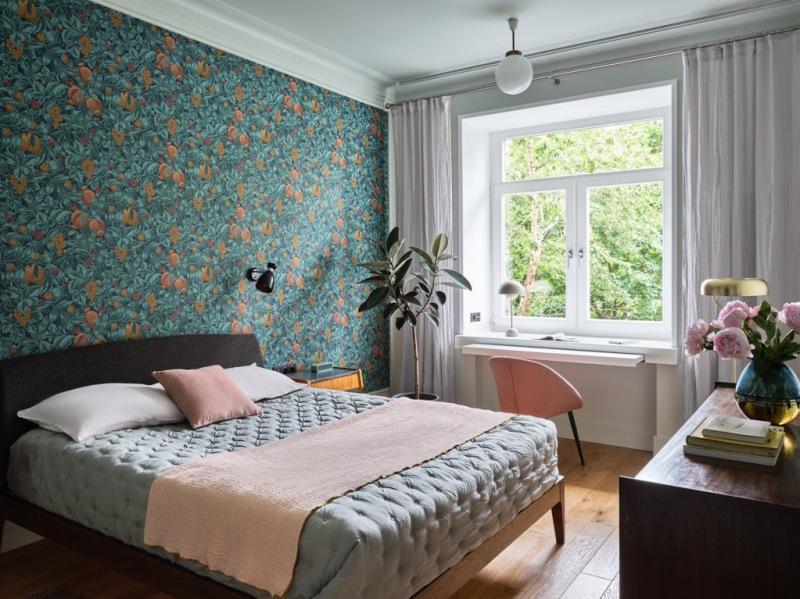 Московская квартира «сталинка», 66 м²