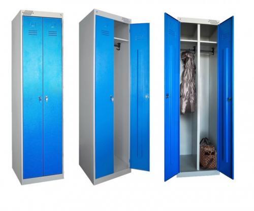 Металлические шкафчики для раздевалки пермь. Шкафы для одежды металлические