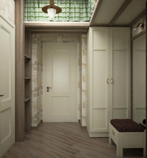 Ниша в коридоре. Универсальность ниши в коридоре