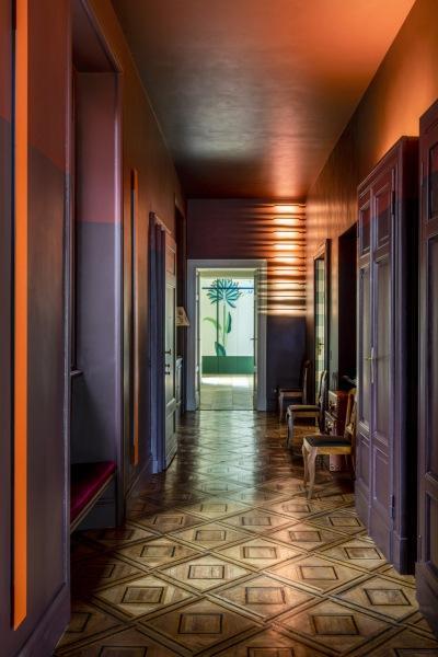 Обновленный интерьер старой миланской квартиры