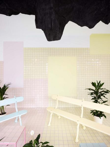 Пастельная студия флоатинга в Женеве