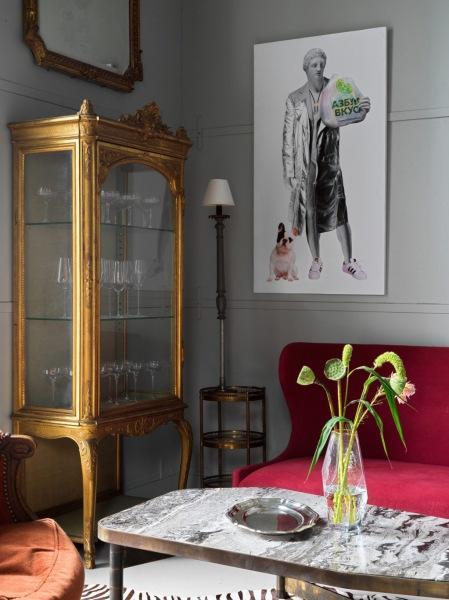 Салон винтажных предметов «Скриньо» по проекту Анны Эрман
