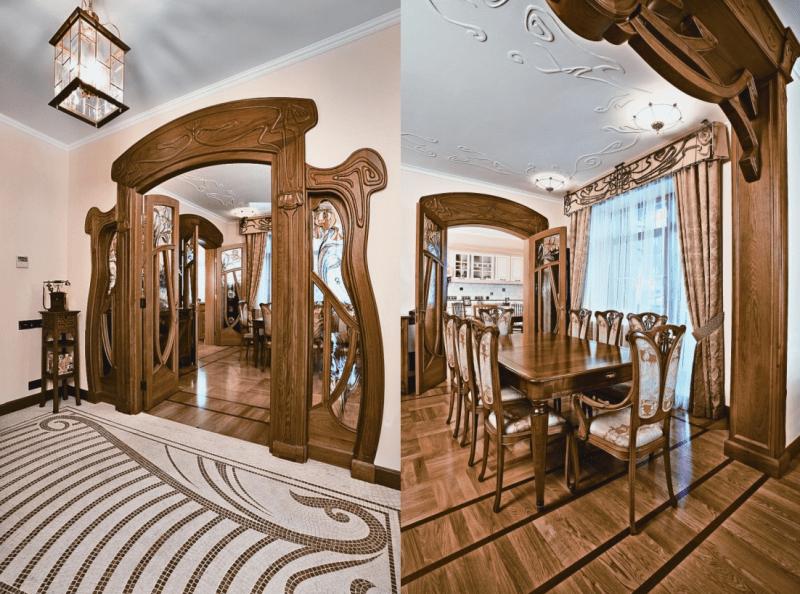 В гостях у эльфов: модерн в интерьере и архитектуре