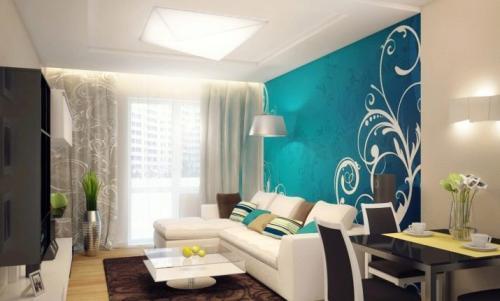 Как украсить стены в гостиной, чтобы было уютно своими руками. Яркие акценты